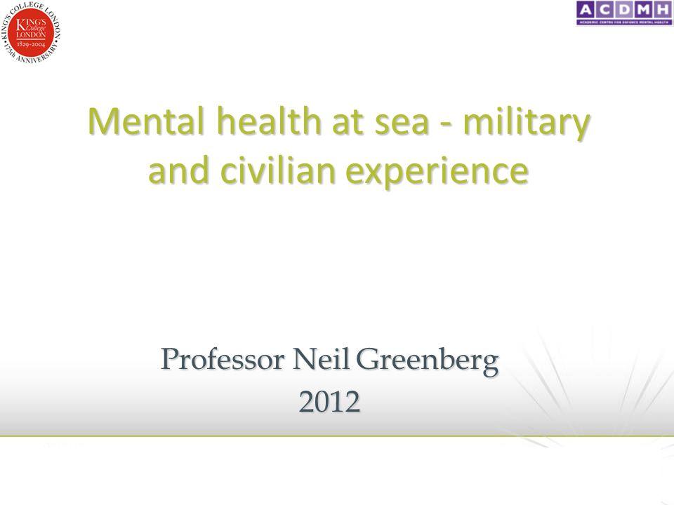 Internal Stigma – Naval Service Langston et al, 2010, JMH