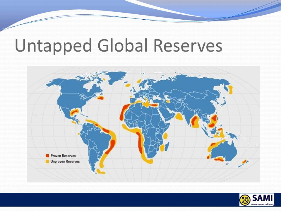 Untapped Global Reserves