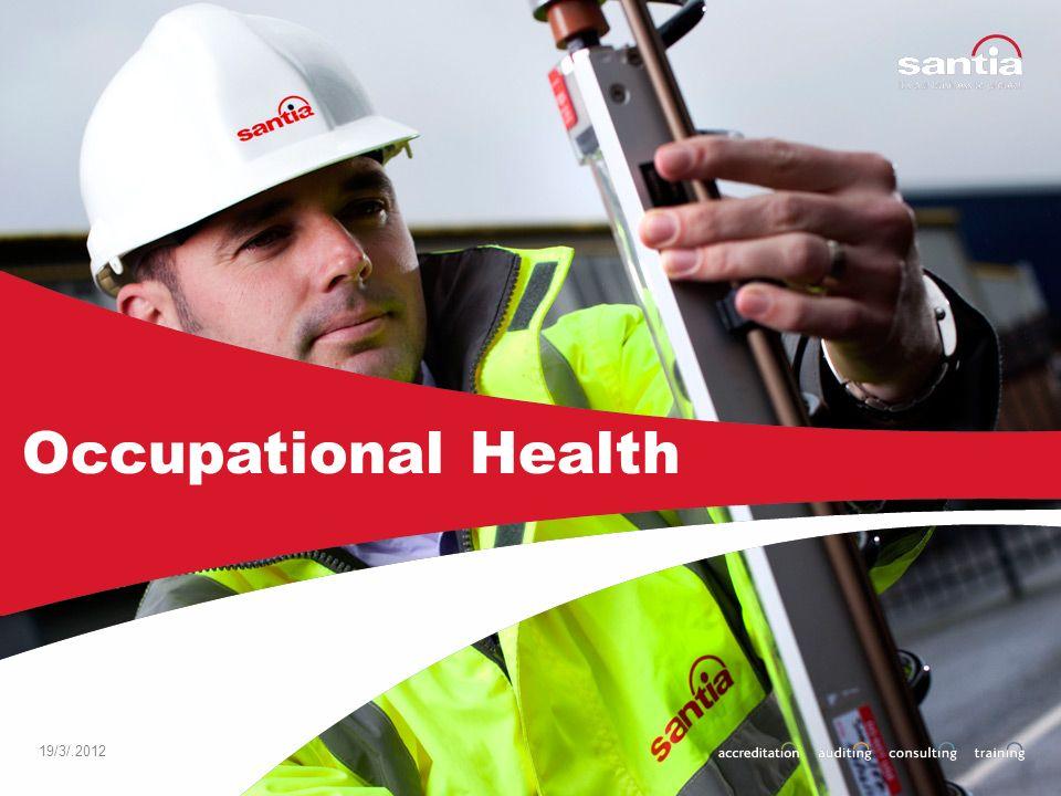 19/3/.2012 Occupational Health