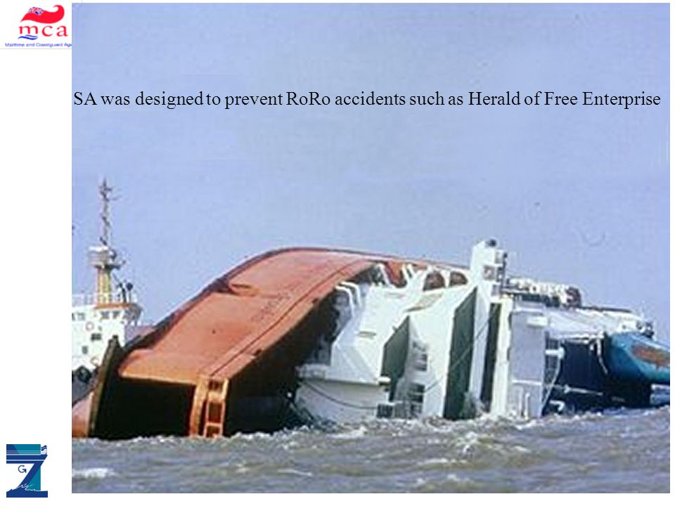 ALLIANCE DM & SAS Stockholm Agreement SA was designed to prevent RoRo accidents such as Herald of Free Enterprise