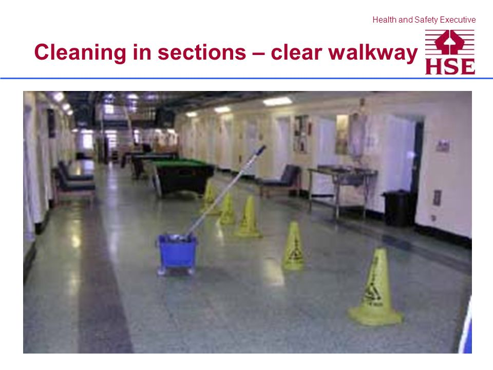 Health and Safety Executive Effective control of spills?
