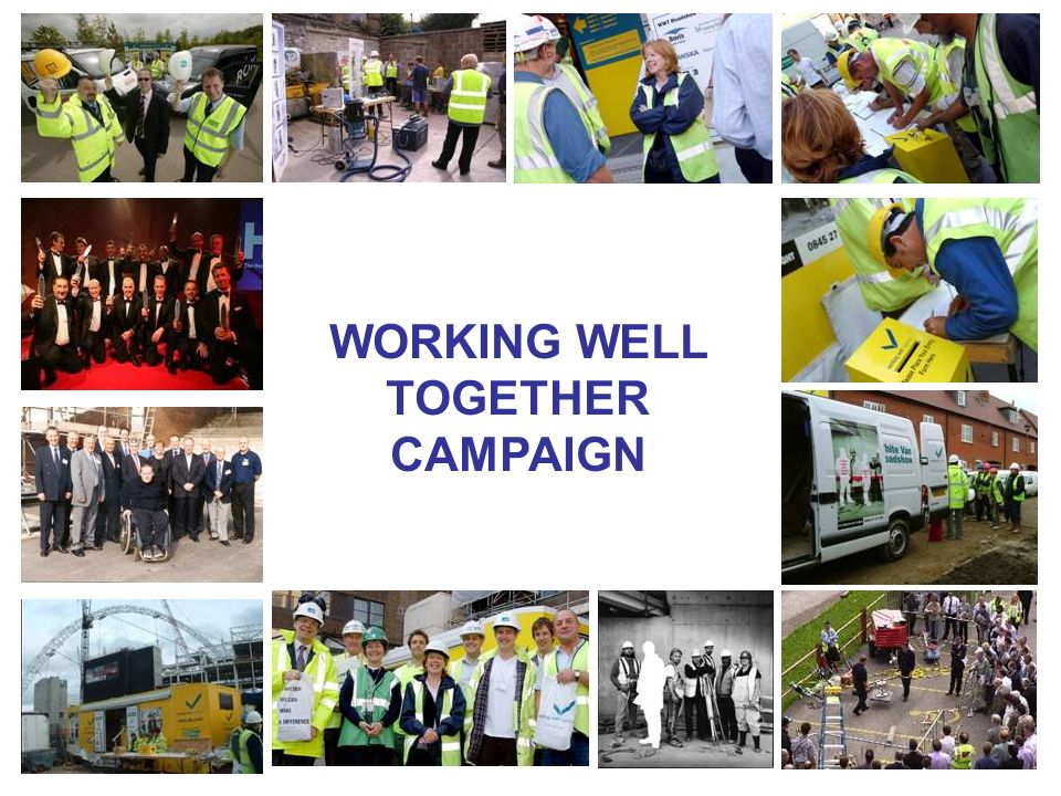 Our Aims The WWT network aims to improve health and safety performance in the construction industry and thereby help prevent death, injury and ill health, particularly in small and micro businesses