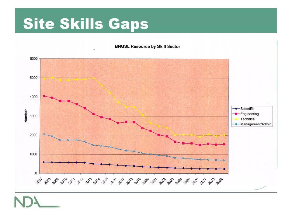 Site Skills Gaps