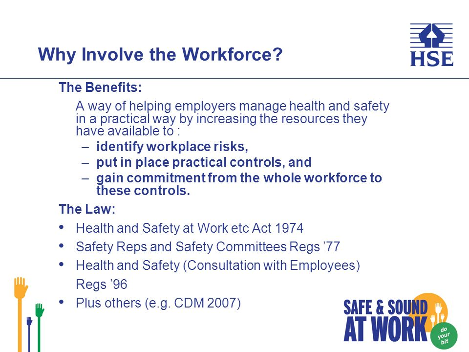 Why Involve the Workforce.