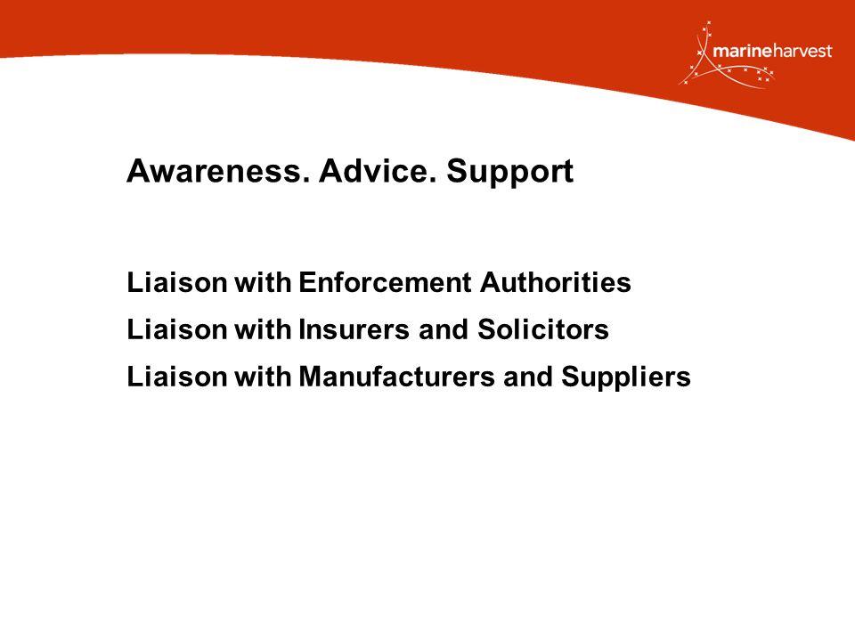 Awareness. Advice.