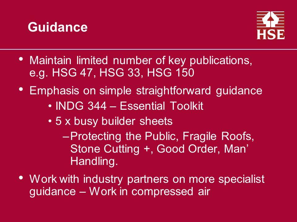 Logo and Endorsement Logo Criteria –HSE involvement.