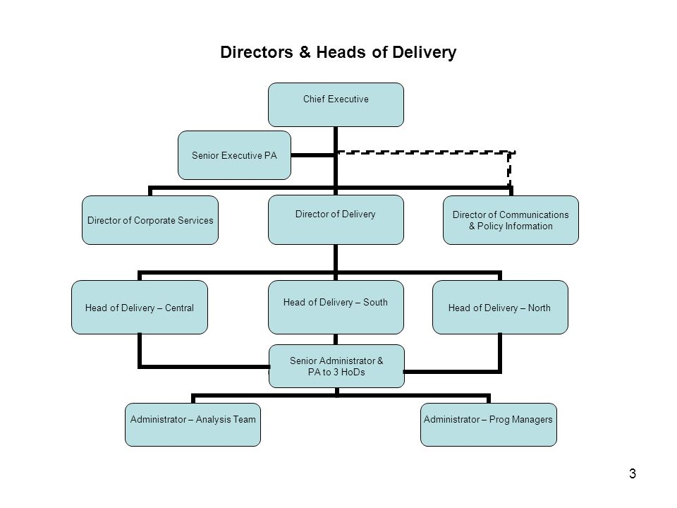 3 Directors & Heads of Delivery