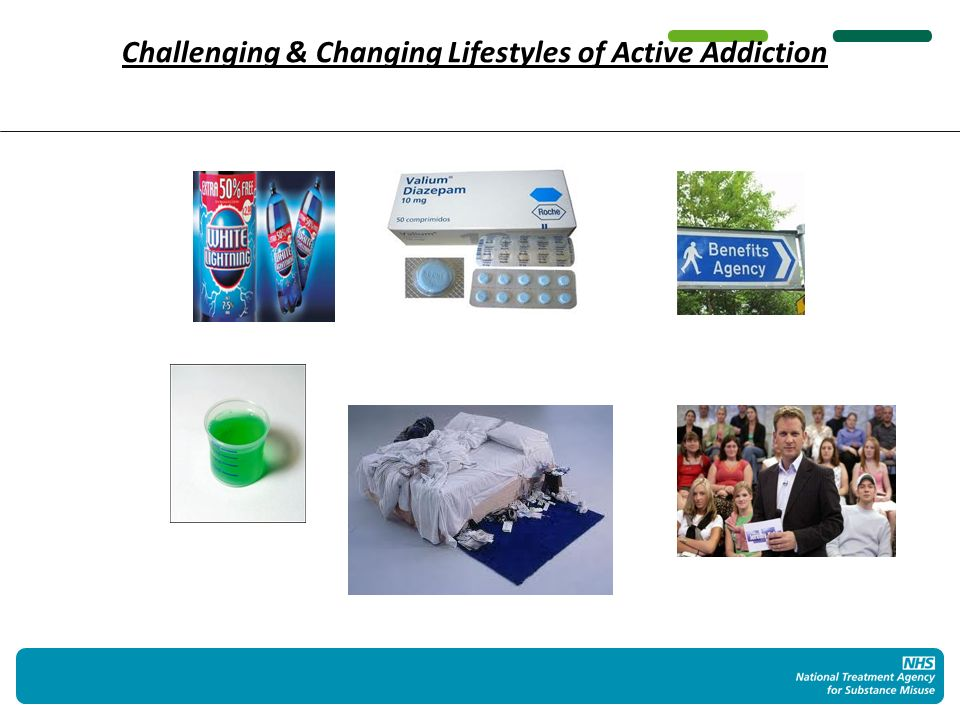 Challenging & Changing Lifestyles of Active Addiction