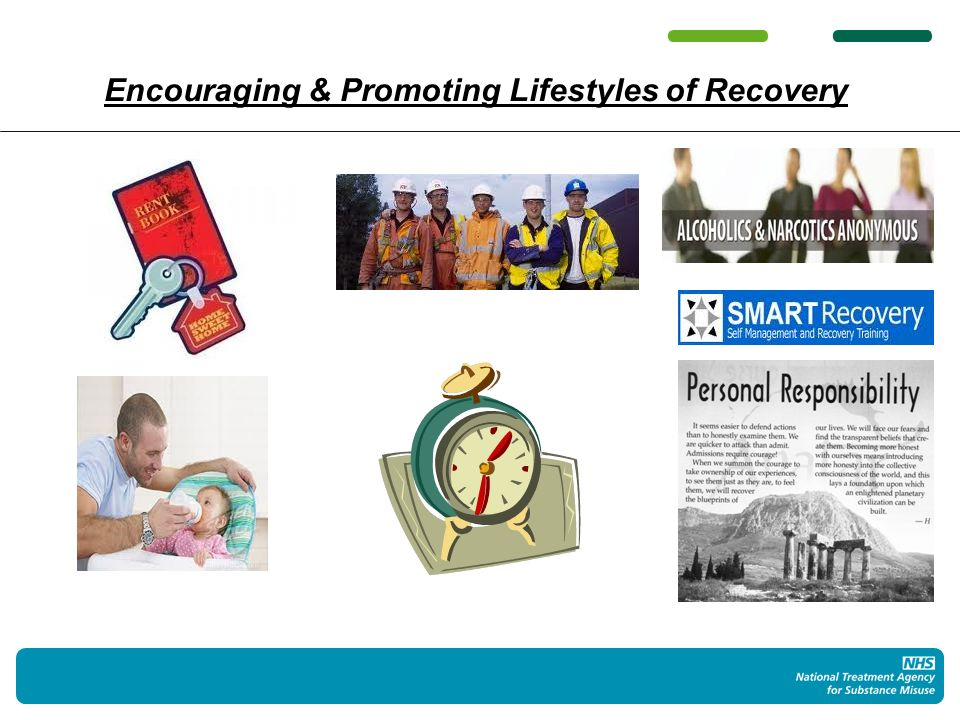 Encouraging & Promoting Lifestyles of Recovery