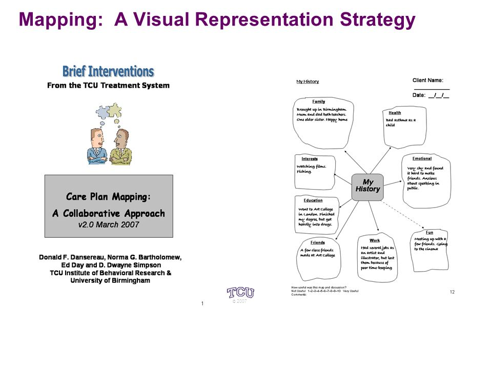 Mapping: A Visual Representation Strategy © 2007