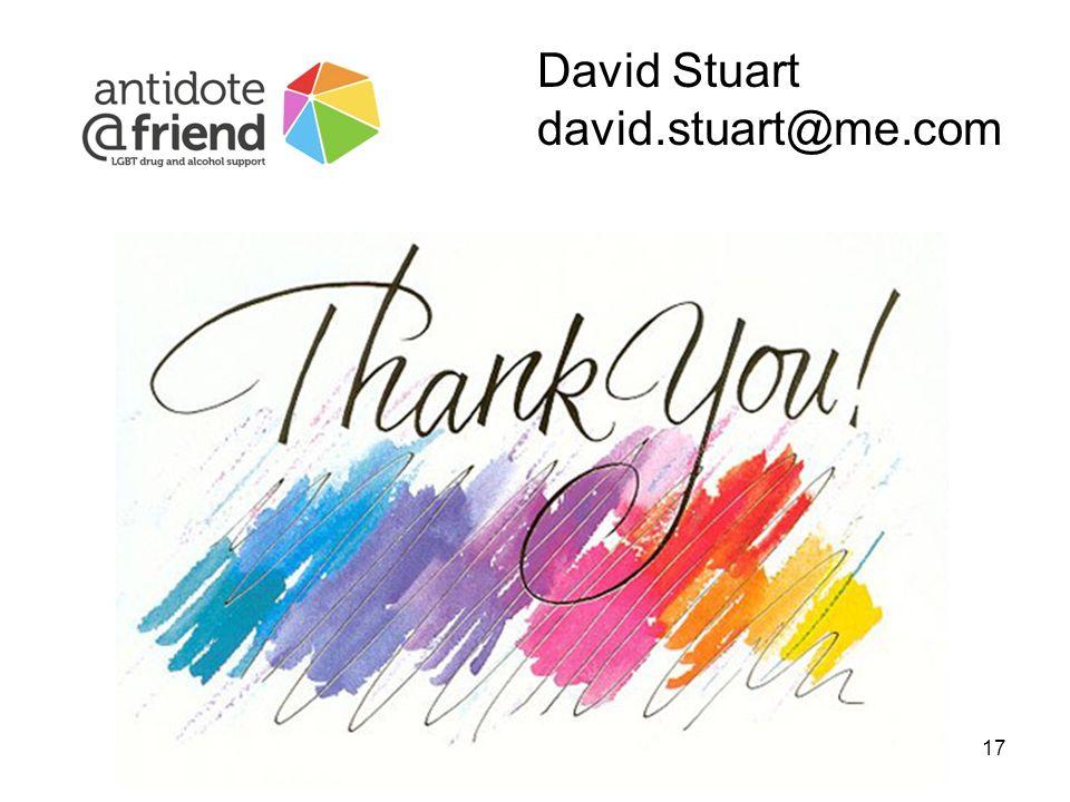 17 David Stuart david.stuart@me.com