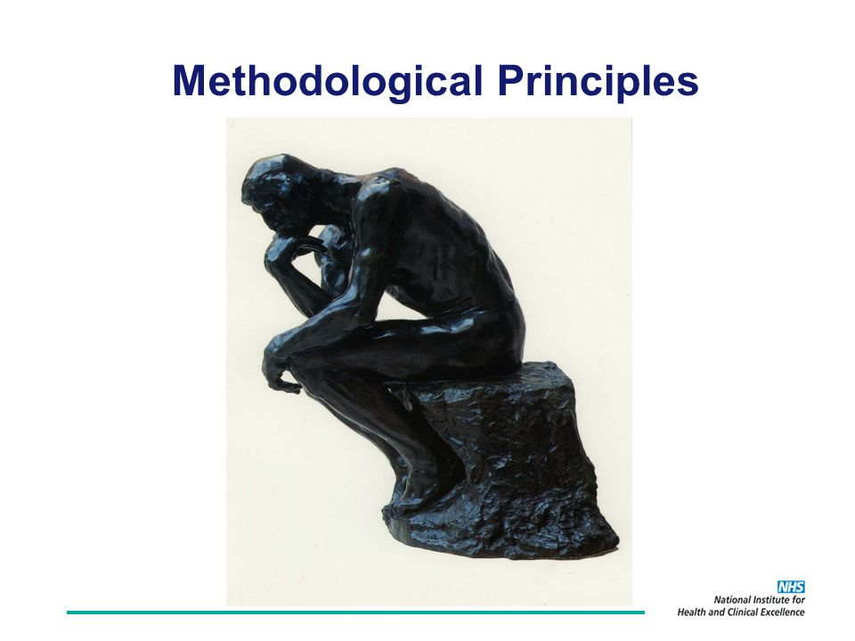 Methodological Principles