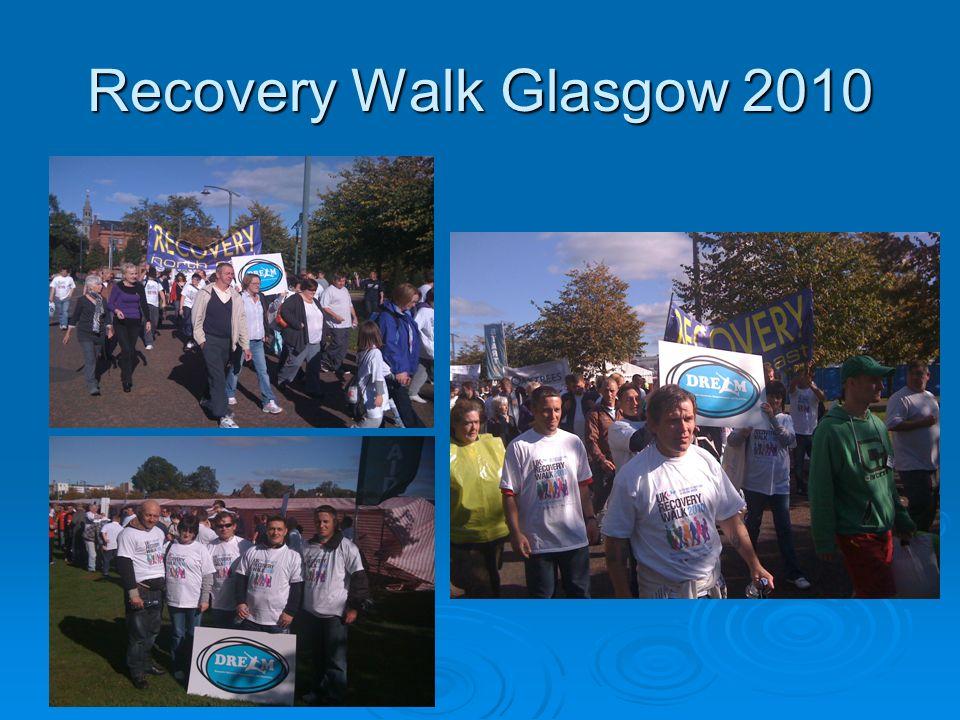 Recovery Walk Glasgow 2010