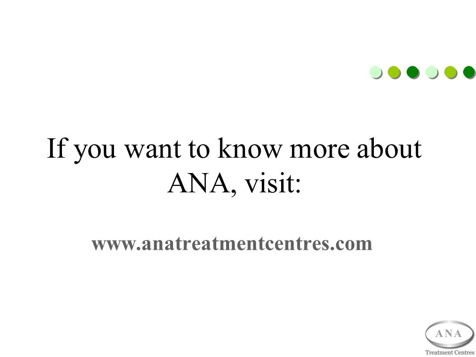 If you want to know more about ANA, visit: