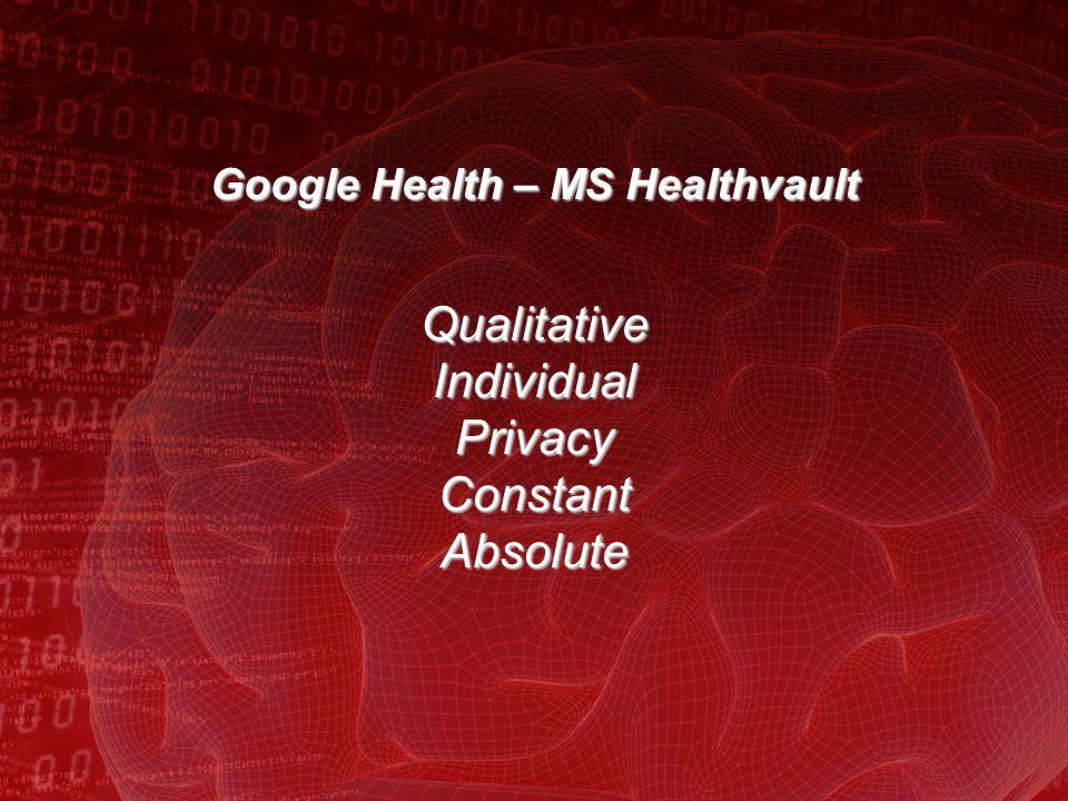 Why People do not like Google Health.