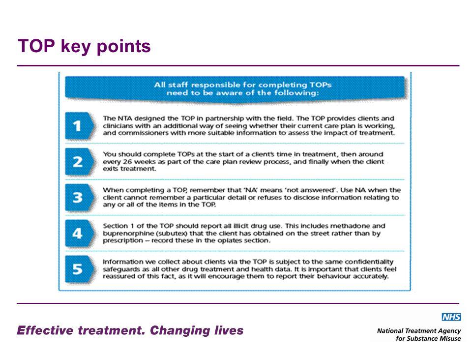 TOP key points