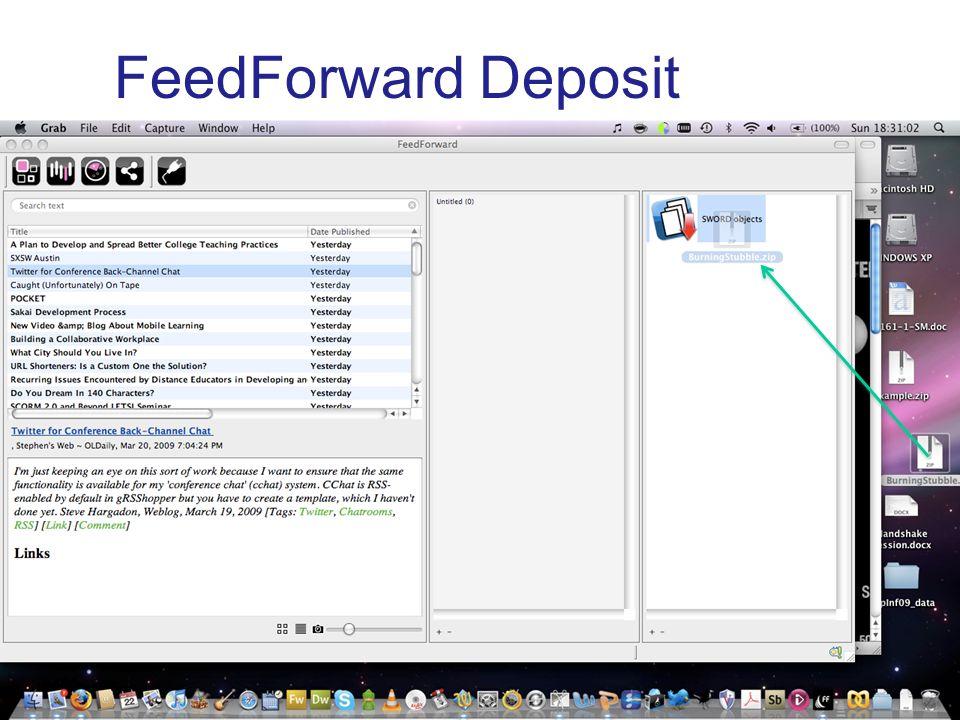 FeedForward Deposit