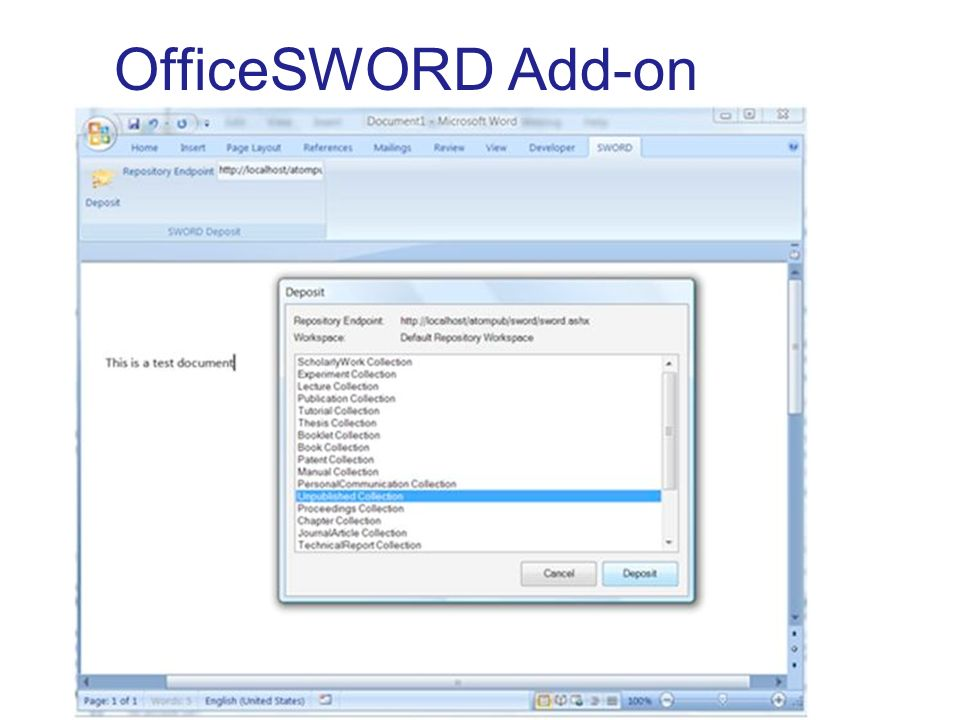 OfficeSWORD Add-on http://www.codeplex.com/OfficeSWORD