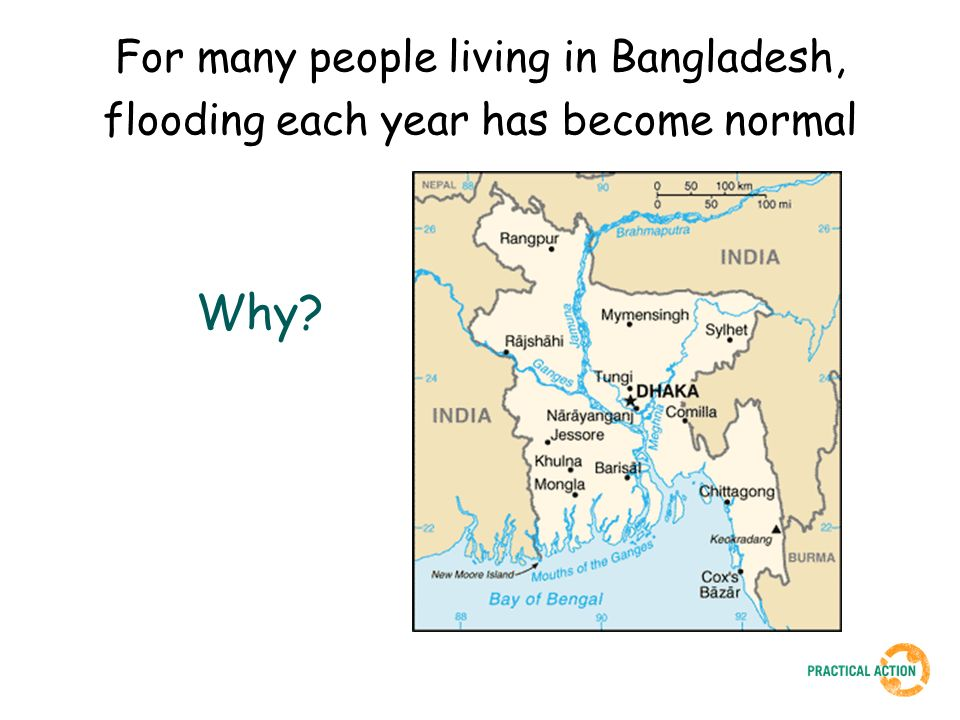 For many people living in Bangladesh, flooding each year has become normal Why?