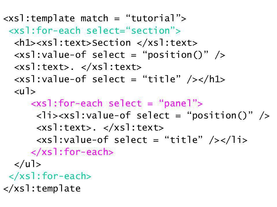 more sort attributes order –ascending (default) –descending case-order –upper-first –lower-first