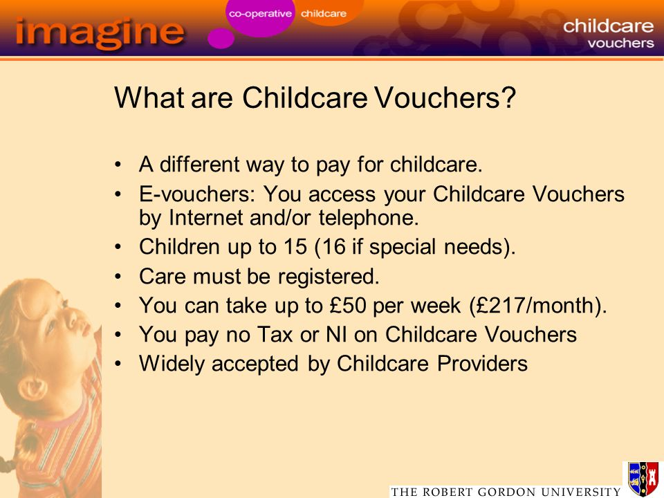 What are Childcare Vouchers. A different way to pay for childcare.