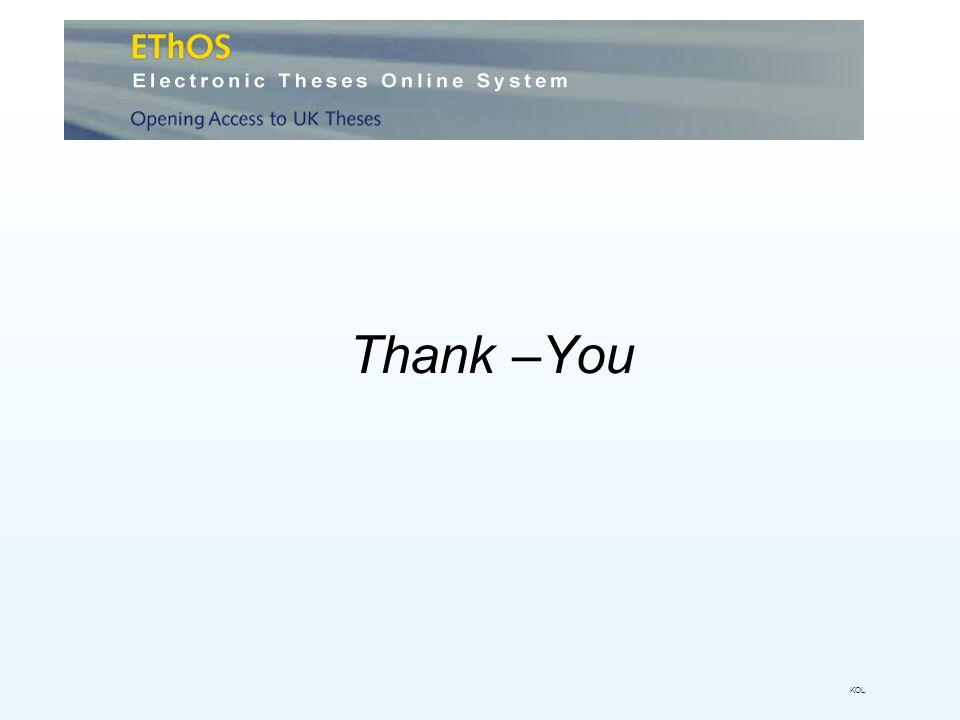 Thank –You KOL
