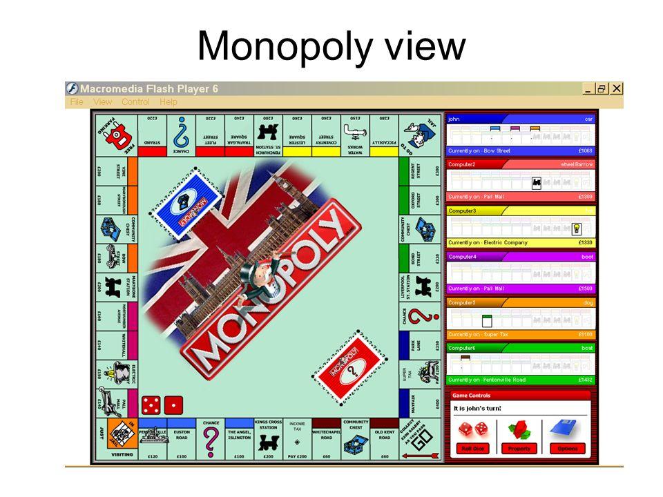 Monopoly view