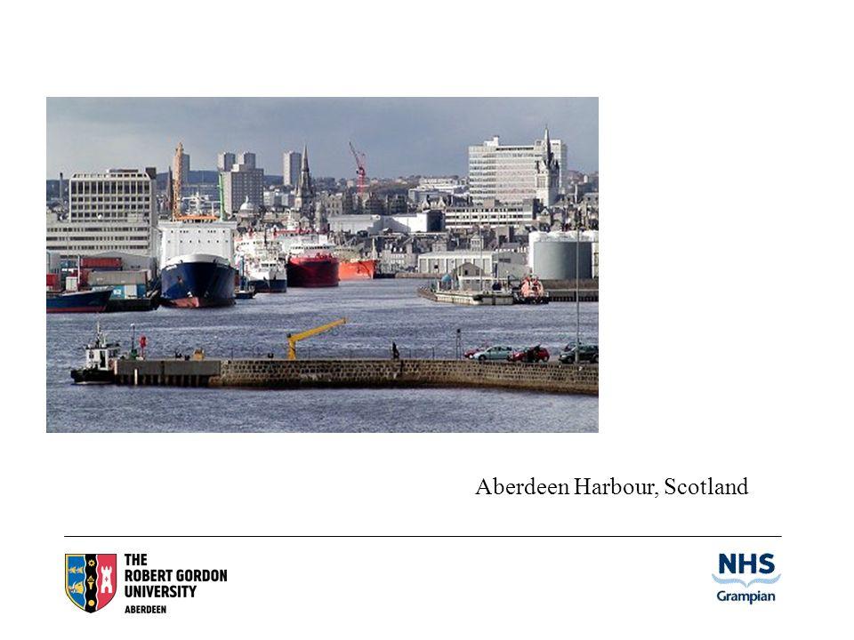 Aberdeen Harbour, Scotland