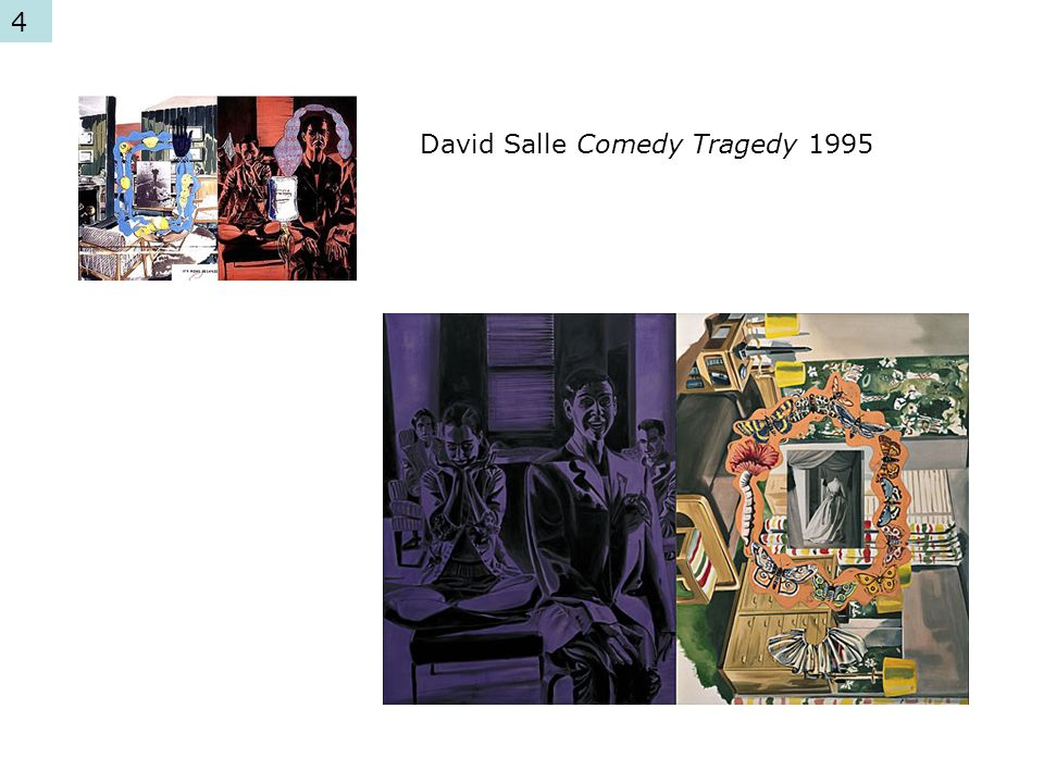 David Salle Comedy Tragedy 1995 4