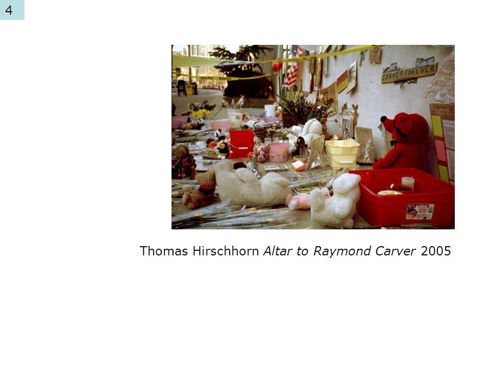 Thomas Hirschhorn Altar to Raymond Carver 2005 4