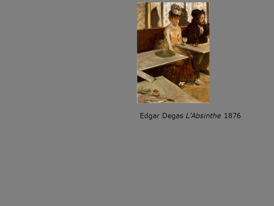 Edgar Degas LAbsinthe 1876