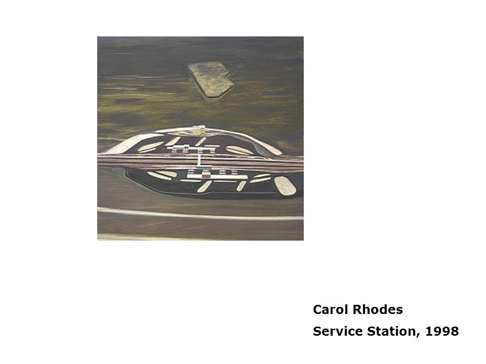 Carol Rhodes Service Station, 1998 Placelessness
