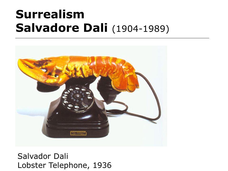 Surrealism Salvadore Dali (1904-1989) Salvador Dali Lobster Telephone, 1936