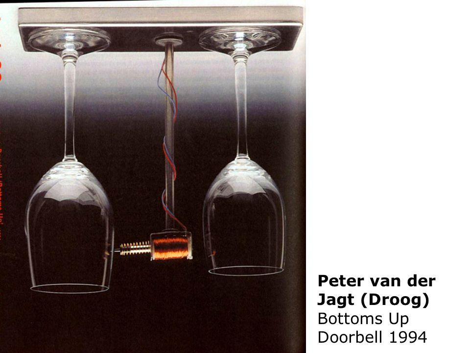 Peter van der Jagt (Droog) Bottoms Up Doorbell 1994