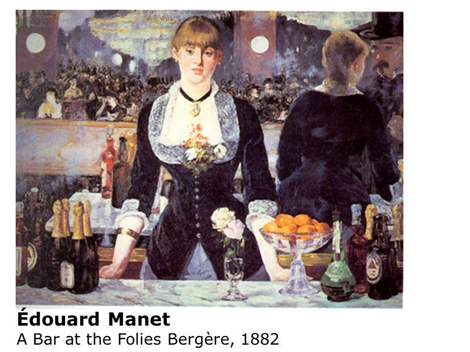 Édouard Manet A Bar at the Folies Bergère, 1882