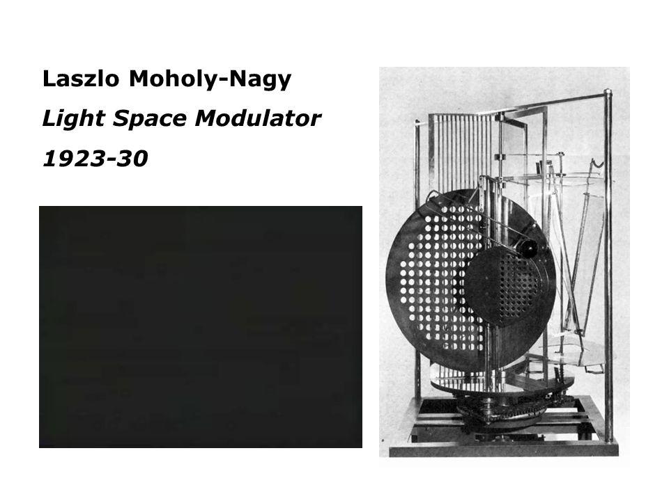 Laszlo Moholy-Nagy Light Space Modulator 1923-30