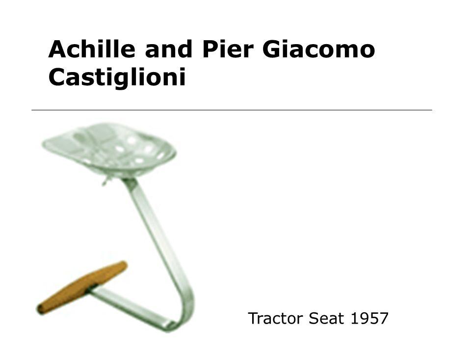 Achille and Pier Giacomo Castiglioni Tractor Seat 1957