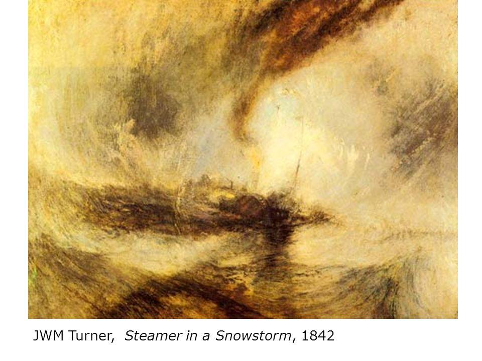 JWM Turner, Steamer in a Snowstorm, 1842