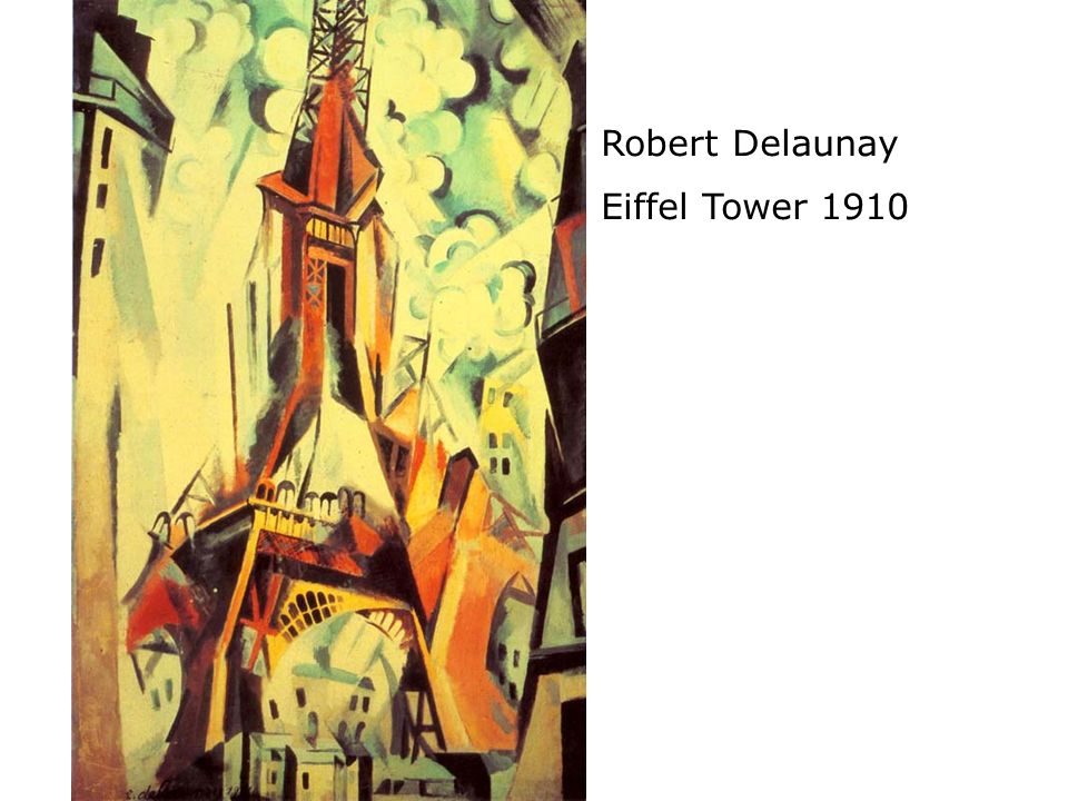 Robert Delaunay Eiffel Tower 1910