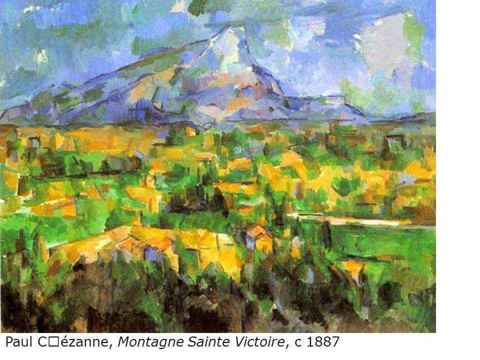 Paul Cézanne, Montagne Sainte Victoire, c 1887