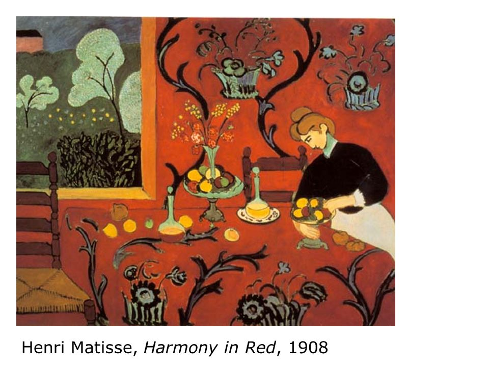 Henri Matisse, Harmony in Red, 1908