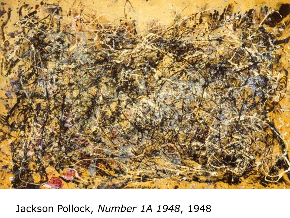 Jackson Pollock, Number 1A 1948, 1948