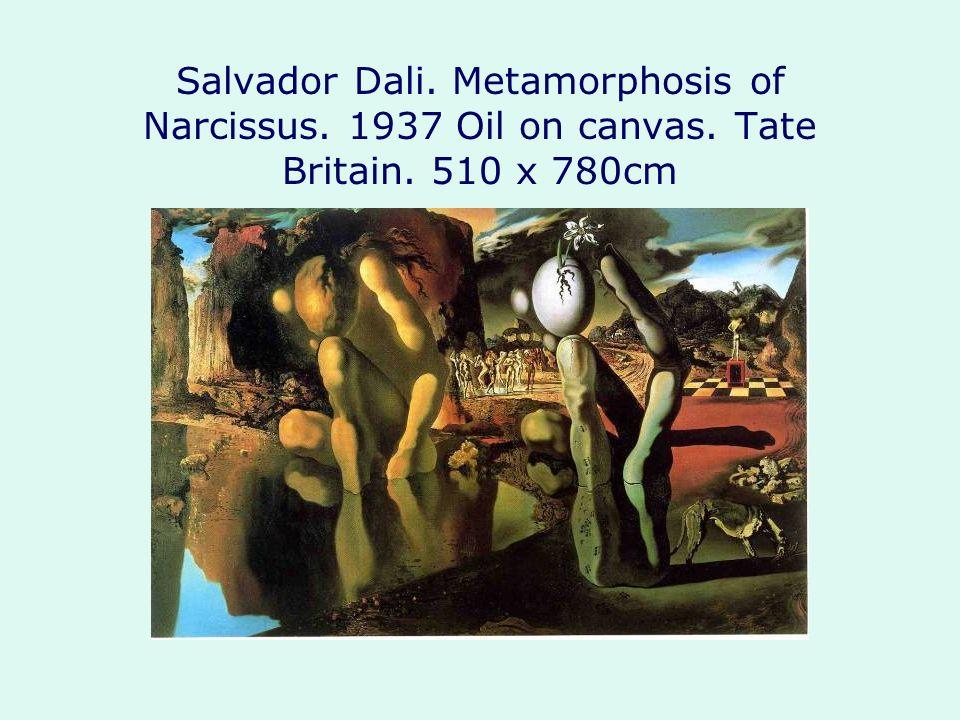 Salvador Dali. Metamorphosis of Narcissus. 1937 Oil on canvas. Tate Britain. 510 x 780cm