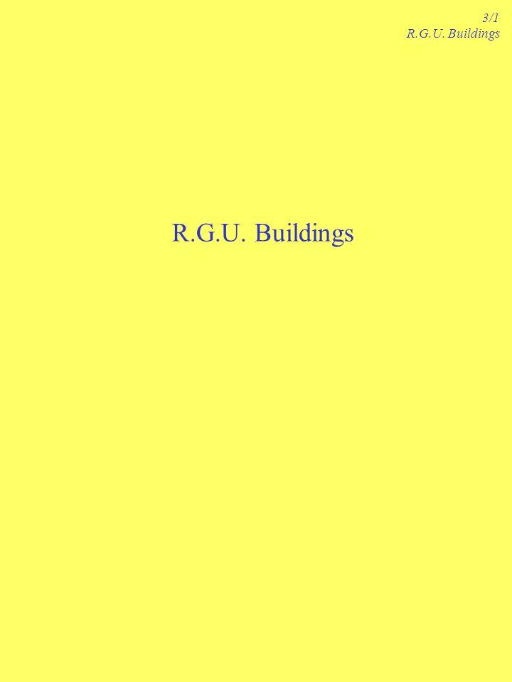 R.G.U. Buildings 3/1 R.G.U. Buildings