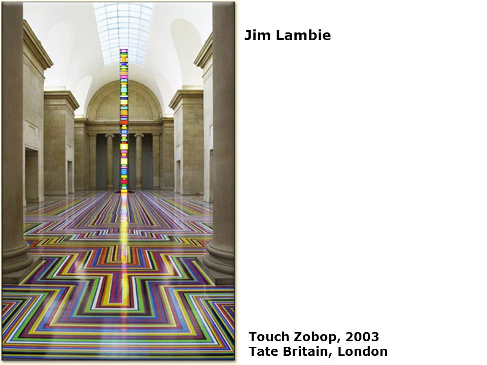 Jim Lambie Touch Zobop, 2003 Tate Britain, London