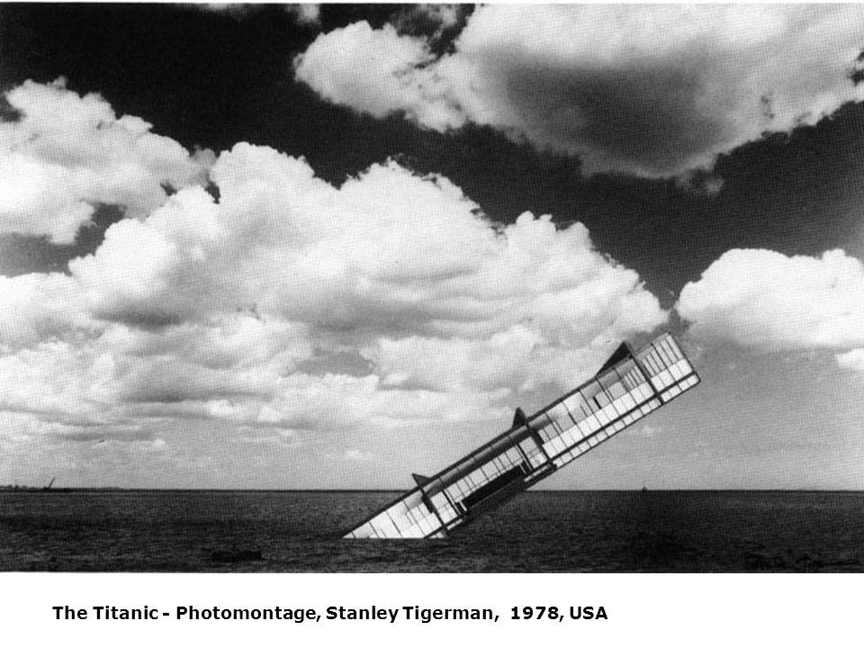 The Titanic - Photomontage, Stanley Tigerman, 1978, USA