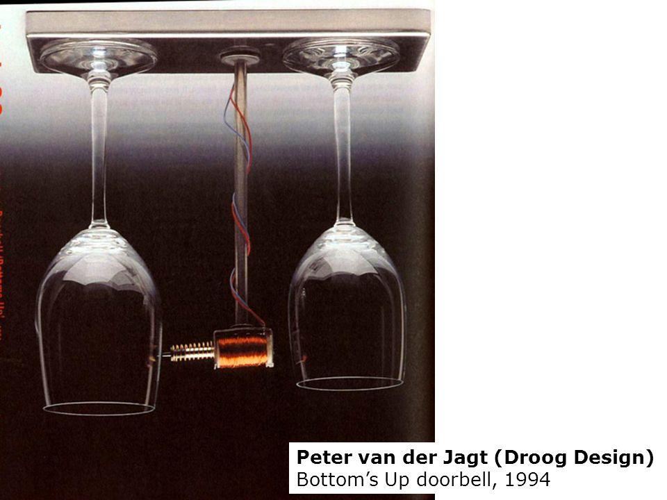 Peter van der Jagt (Droog Design) Bottoms Up doorbell, 1994