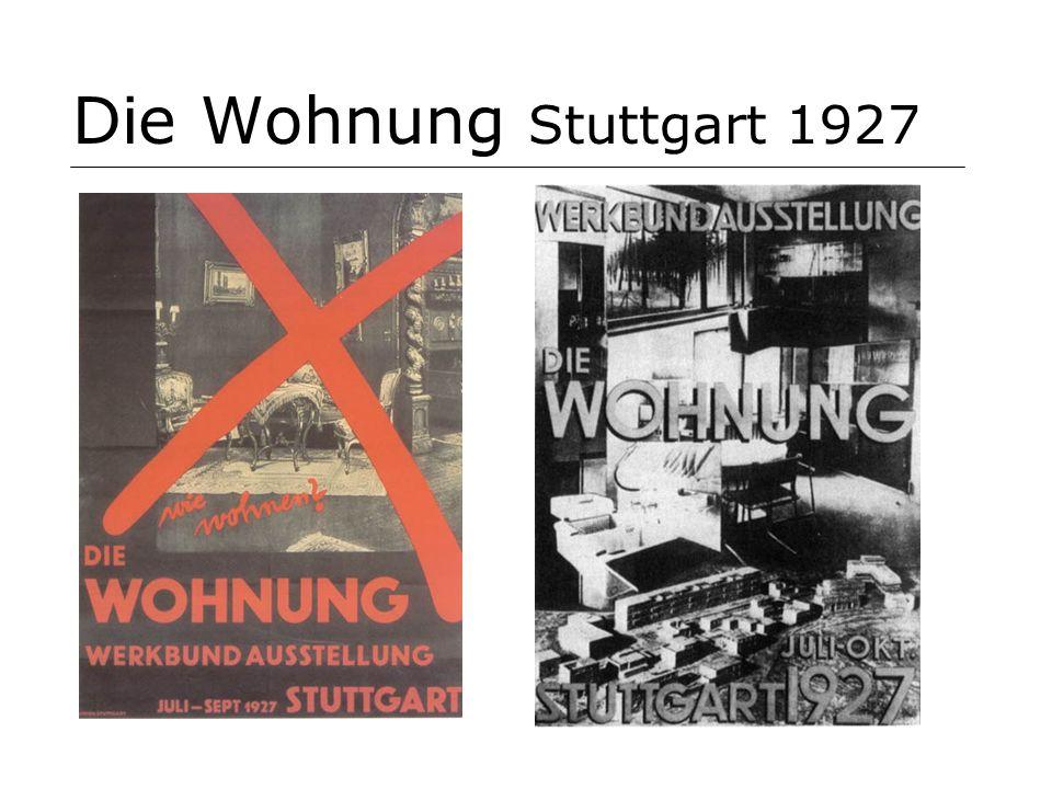 Die Wohnung Stuttgart 1927