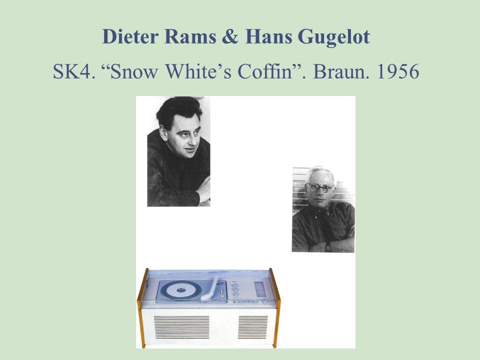 Dieter Rams. The Transistor. Braun. 1956