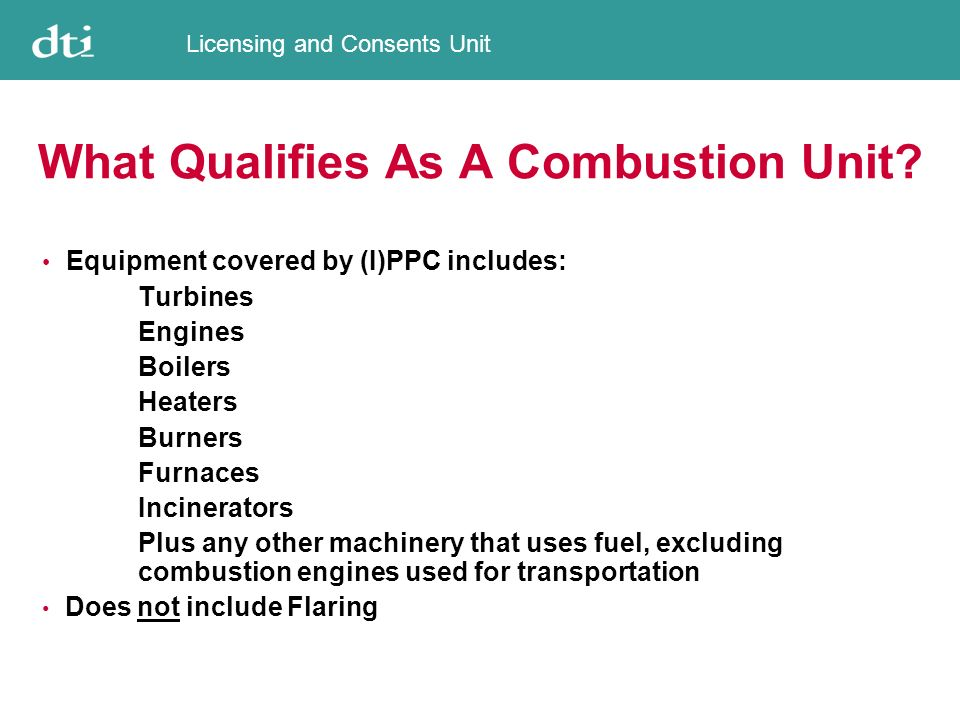 Licensing and Consents Unit Are Other Emissions Included .